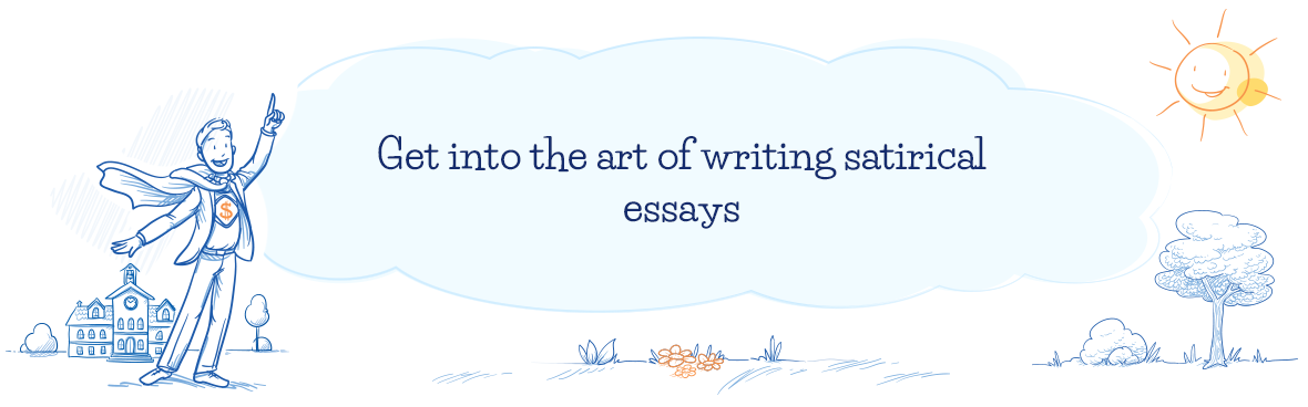 Get fun writing satirical essays