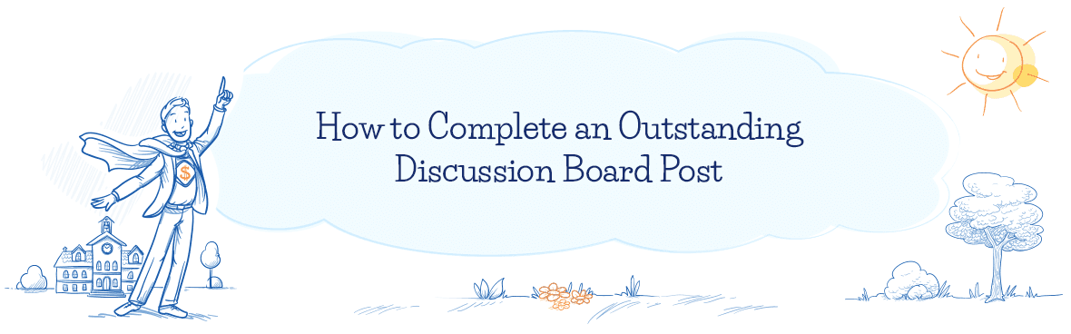 How To Write Discussion Board Post