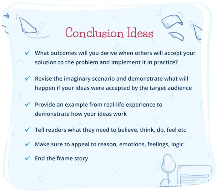Conclusion Ideas for Argumentative Essay