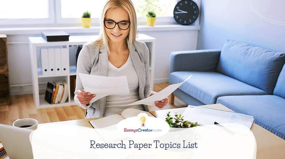 Research Paper Topics List